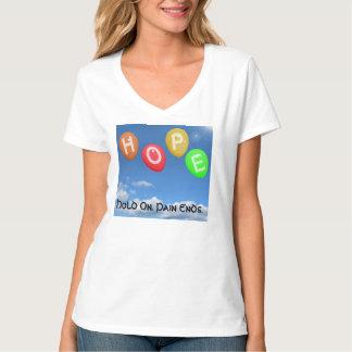 女性のTシャツの勇気付けられる Tシャツ