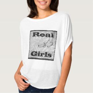 女性のTシャツの実質の女の子のスローガン Tシャツ