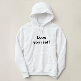 女性のTシャツ愛あなた自身 パーカ