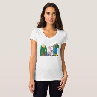 女性のTシャツ|ミネアポリス、MN (MSP) Tシャツ