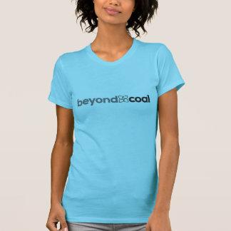 女性のTシャツ-ミント-石炭を越える… Tシャツ