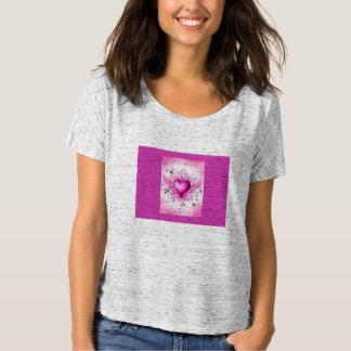 女性のTシャツ(小指のハート) Tシャツ