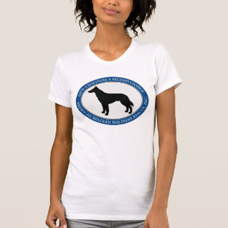 女性のTシャツABMR Malinoisのロゴ Tシャツ