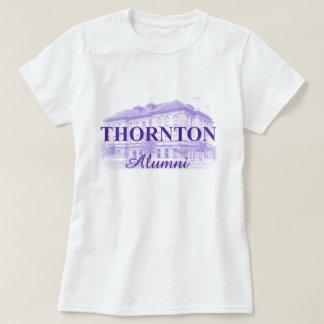 女性のThornton 1899の卒業生のTシャツ Tシャツ