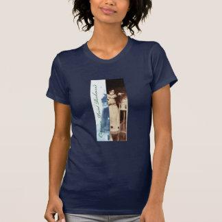 女性のvの首の招待05 tシャツ