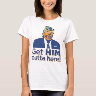 """女性は""""ここに得ます彼にouttaを!"""" 切札はTシャツを吸います Tシャツ"""