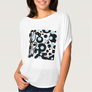 """女性はFlowyの上に""""KasperKlothesによって点を打ちます"""" Tシャツ"""