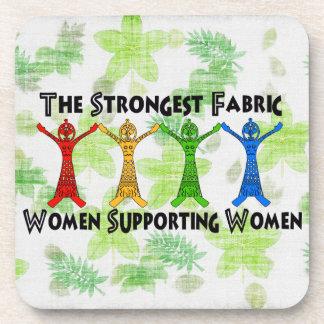 女性を支えている女性 コースター