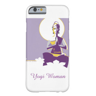 女性を照らせば十分にのYoginiによっては、「mindがうろつきます Barely There iPhone 6 ケース