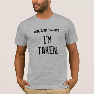 女性を離れた手…私は取られます Tシャツ