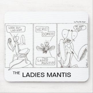 女性カマキリ マウスパッド