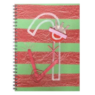 女性キャンディ・ケーンのノート ノートブック