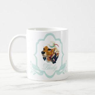 女性ダベンポート コーヒーマグカップ