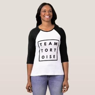 女性チームカメのRaglan袖 Tシャツ