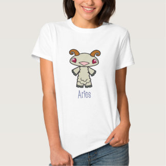 女性ベビードールの牡羊座のワイシャツ シャツ