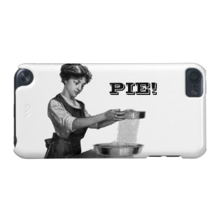 女性ベーキングまたは焼くことのヴィンテージの絵 iPod TOUCH 5G ケース
