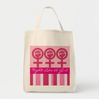 女性力の紋章の食料雑貨 トートバッグ