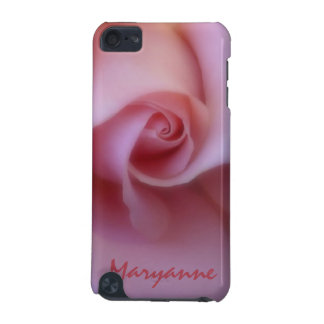 女性名前入りなピンクのバラのIPodの箱 iPod Touch 5G ケース