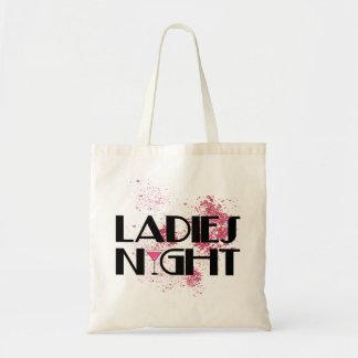 女性夜 トートバッグ