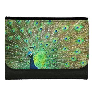 女性孔雀デザイナー財布