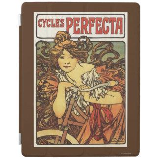 女性広告Posteが付いているパーフェクタの自転車 iPadスマートカバー