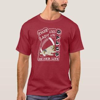 女性愛Dawgs Tシャツ