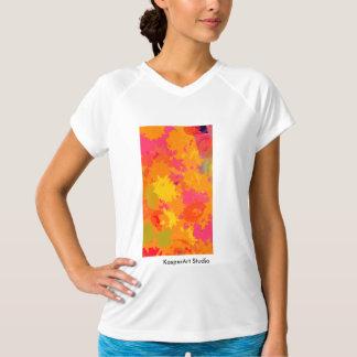 女性抽象芸術IIのActivewear Tシャツ