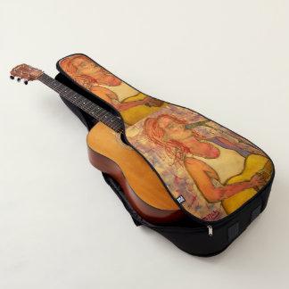 女性歌手 ギターケース