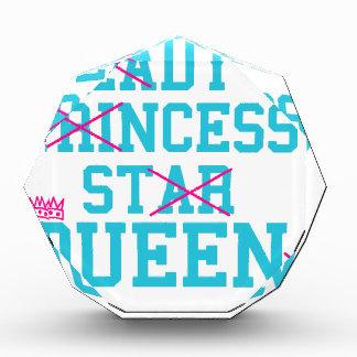 女性王女の星の女王 表彰盾