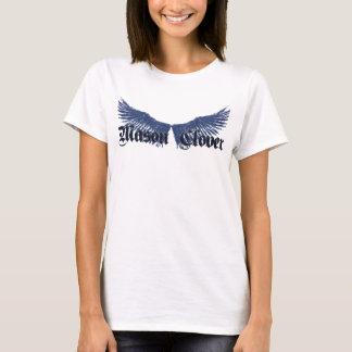 女性翼のティー Tシャツ