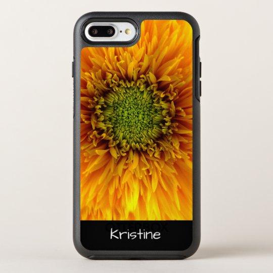 女性自然の花柄 オッターボックスシンメトリーiPhone 7 PLUSケース
