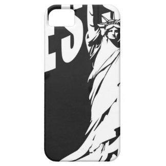 女性自由抵抗して下さい iPhone SE/5/5s ケース