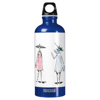 女性買物をする自由 ウォーターボトル