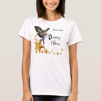 女性風がそよぐBree-の黄色い妖精8 Tシャツ