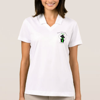 女性1人の幽霊 ポロシャツ