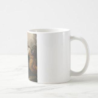 女性(イザベラde Carazziの決闘の決闘 コーヒーマグカップ