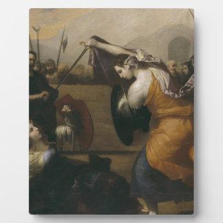 女性(イザベラde Carazziの決闘の決闘 フォトプラーク