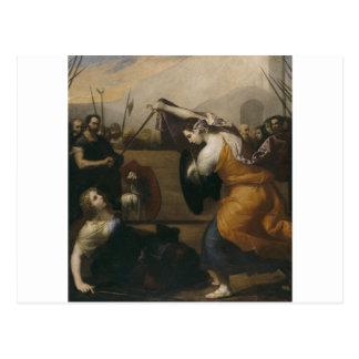 女性(イザベラde Carazziの決闘の決闘 ポストカード