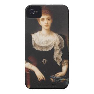 女性(キャンバスの油)のポートレート2 Case-Mate iPhone 4 ケース