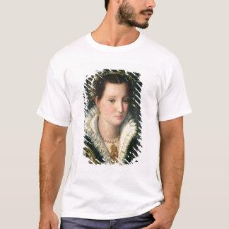 女性(パネルの油)のポートレート2 Tシャツ