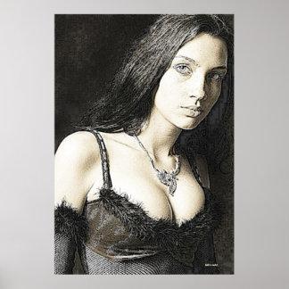 女性 ポスター