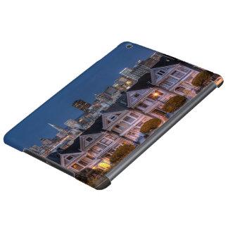 「女性」家の夜眺めは絵を描きました iPad AIRケース