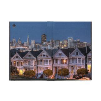 「女性」家の夜眺めは絵を描きました iPad MINI ケース