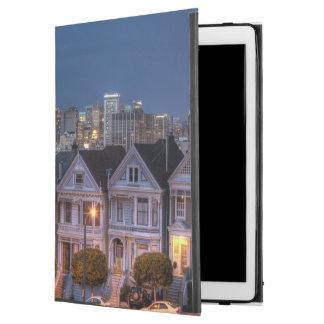 """「女性」家の夜眺めは絵を描きました iPad PRO 12.9"""" ケース"""