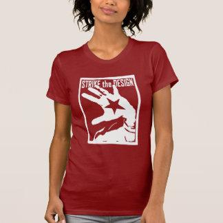 女性-殴打手 Tシャツ