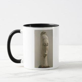 女性(石)の頭部 マグカップ
