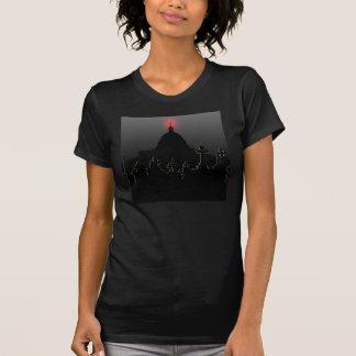 女性BV Hill_Black T Tシャツ