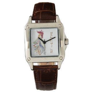 女性Key Westオンドリの腕時計 腕時計