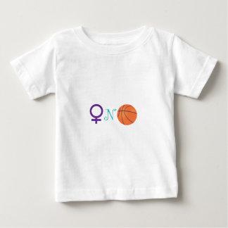 女性Nバスケットボール ベビーTシャツ