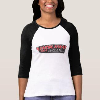女性SH 3/4の袖のRaglanの(合う)陸上競技 Tシャツ